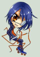 Agito- Chibi by NamelessArrogance