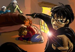 The Last stand at Malfoy Manor by jameson9101322