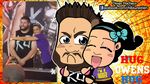 Bayley and Kevin Owens Hug Wallpaper by kapaeme