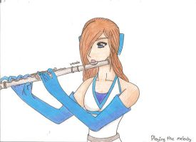67 Playing the Melody by hoshi-kagami