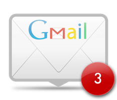 GMail Rainmeter skin by apendx