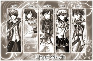 [Tales of Reflectia] Cast by Tsiih-chan