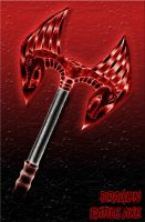 Runescape dragon battle axe 2 by grievence