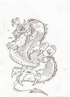 Dragon Tattoo by JokerSmile69