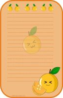 Stationary Mandarin by chii00