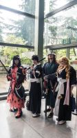 Sakura Con: Bleach and Gaius from the Tales of Xi. by Mackingster