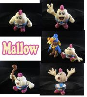 Mallow Sculpture: Collage by ClayPita