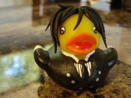 Sebastian Michaelis Duck 3 by spongekitty