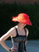 Girl with the Red Hat by todds201