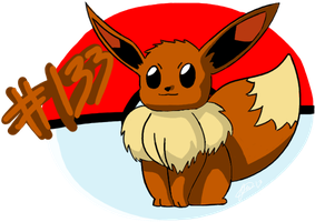 Eevee by Spufflez