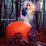 Autumn Pumpkin fairy by JiaJenn31