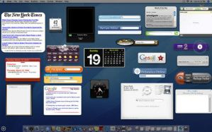 Mac Dashboard for XP by jawzf