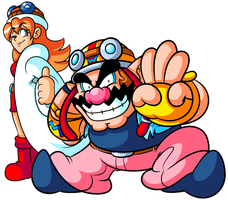 He's a Nerdly Plumber, and I'M-A WARIO -plus Mona- by JamesmanTheRegenold