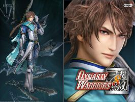 DW8 Wallpaper - Zhong Hui by Koei-Warrior