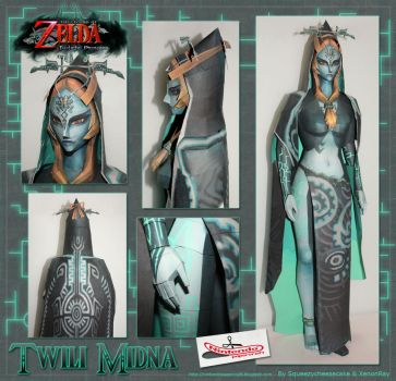 Twili Midna Papercraft by Avrin-ART