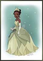 Princess Portrait: Tiana by Cor104