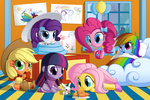 Equestria Babies by BerryPAWNCH