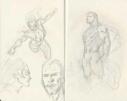 DC Sketchs 02 by pansica