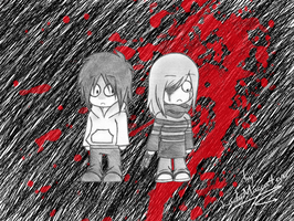 Jeff The Killer-That Girl by EdoRoku