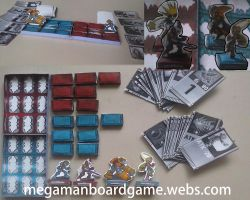 Megaman Battle Network Board Game by SMDgamer27