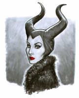 Maleficent's Glare by BigChrisGallery