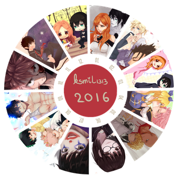 2016 Summary Of Art by ksmile1313