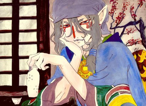 More sake please by thewomaninred