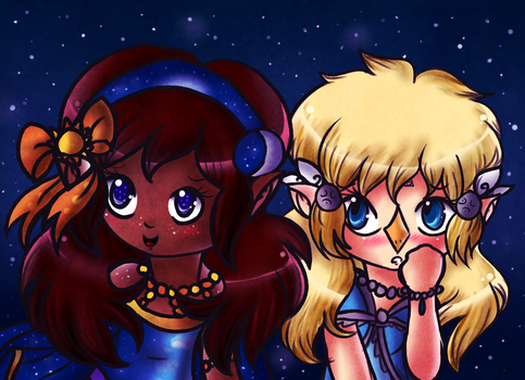 Goddess Babies by Jrynkows