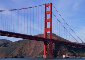 Golden Gate Bridge by pdelariva