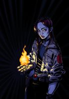 BPRD Liz Sherman by CamiFortuna