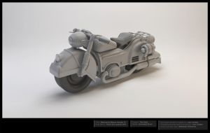 Motorcycle 3D Model -Beauty Render Sheet by LBG44