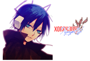 Devil Survivor Abel/MC}Render by xOrph3us