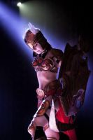 Valkyrie Leona Cosplay Stage by RavenAkaShiroi