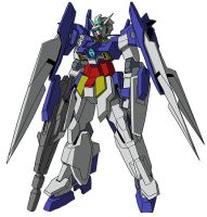 AGE-2 Gundam AGE-2 Normal MS mode by unoservix