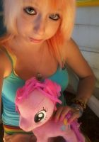Hanging out with Pinkie Pie by DyaniAnn