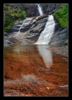 The falls with no name by Pistolpete2007