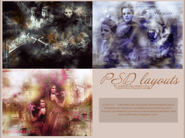 3 PSD layouts by Neloaart