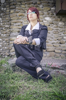 Claire Redfield cosplay RE M3D suit by Vicky-Redfield