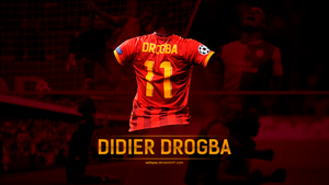 Didier Drogba wallpaper by seloyxx