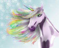 Bob is a handsome Unicorn by n71195
