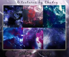 6 Textures Piece of folly by Chedey111