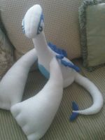 Lugia Plushie by xdarkshade