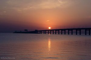 Sunrise Over The Causeway by DeoIron