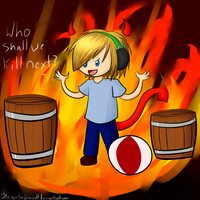 Evil Pewdie and his Minions by Blaisie
