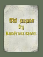 Old paper by AnnFrost-stock