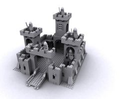 Lego Castle 375-6075 WIP by d100763