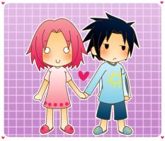 Theme 35 : Hold my hand by NaruHina--SasuSaku