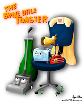 The Brave Little Toaster! by Artistboy360