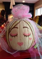 Bride Pumpkin by SonicRocksMySocks