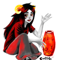 Aradia's Vase by crestitella